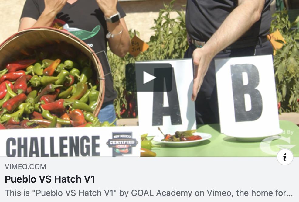 Hatch Chile Festival 2020.The Great Chile Challenge Pueblo Vs Hatch V1 Pueblo